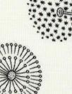 'life of dandelion' bamboo/spandex jersey - Oeko-Tex cert.