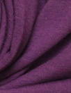 bamboo/cotton Oeko-tex certified French terry - plum violet