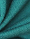 bamboo/cotton french terry - deep teal