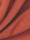 bamboo/cotton french terry - paprika