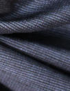 Italian linen/viscose stretch bengaline stripe