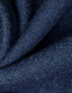 viscose/wool boucle knit suiting - navy