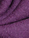 viscose/wool bouclé knit suiting - plum