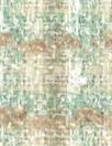 Italian textured plaid boucle' - mint/sand