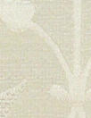 decorative design silk/linen damask - cream