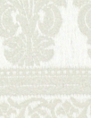 French decorative, textured stripe cream brocade