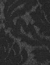 CA designer textured black on black scroll brocade