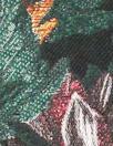 A1ice & O1ivia vintage floral metallic brocade