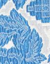 famous designer blue tones floral stretch brocade