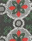 famous designer medallion jacquard brocade