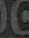 Italian black mod graphic textured brocade