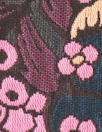 Rebecca Tayl0r berry jacquard brocade - pink/plum