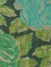 Italian floral jacquard brocade - emerald tones