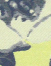 Va1entino lemon/navy floral jacquard brocade