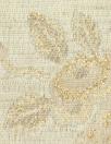 Tah@ri ivory/gold metallic floral jacquard brocade