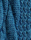 classic cable sweater knit - lagoon blue