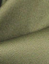 'cargo twill' cotton/spandex woven - army green