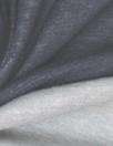Italian cotton/cashmere 2-ply knit - navy/light gray