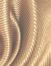 Italian 'techno chain link' thick doubleknit - gold