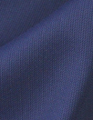 Italian textured 'knit stitch' stretch woven - navy