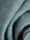NY designer cotton chambray shirting - dusty blue