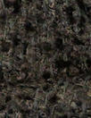 'French tweed' viscose blend boucle' - black