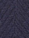famous designer Italian wool chevron doublecloth - navy