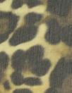 NY designer leopard print silk chiffon