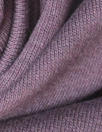 bamboo/cotton fleece-back knit - dusty grape