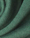 bamboo/cotton fleece-back knit - pine