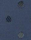 'Concerto' visc/acet lining - navy dot