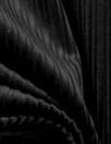 8-wale 'thick/thin' stretch corduroy - black