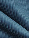 8-wale 'thick/thin' stretch corduroy - marine blue