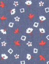 Ar@ks teeny graphic floral cotton poplin