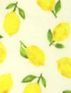NY designer lemons cotton stretch shirting 1.375 yds