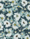 Italian cotton stretch shirting - 'liberty' floral