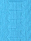 Italian cotton matelasse' jacquard - turquoise