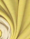Italian cotton/cashmere 2-ply knit - yellow/natural