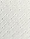 NY designer cotton eyelet lace - white basketweave
