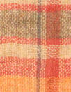NY designer cotton gauze spice tones plaid