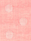 Japanese lightweight cotton jacquard - coral dot