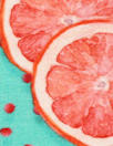 Dutch digital 'citrus treat' knit Oeko-Tex certified