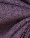 organic 100% cotton lightweight knit - purple heather
