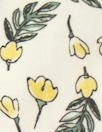 organic cotton jersey - little lemon flowers