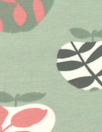 Dutch apple graphic bio-cotton knit - frosty green