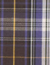 Br00ks Bros. choc/grape yarn-dyed plaid cotton shirting