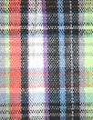 French yarn-dyed plaid cotton stretch woven