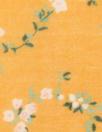 Italian dainty floral cotton/silk voile - citrus