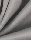 'Victoria' cotton sateen stretch woven - grey 2 yds Minor Flaw