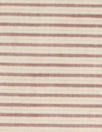 Italian all cotton yarn-dye stripe 2 - terra/beige